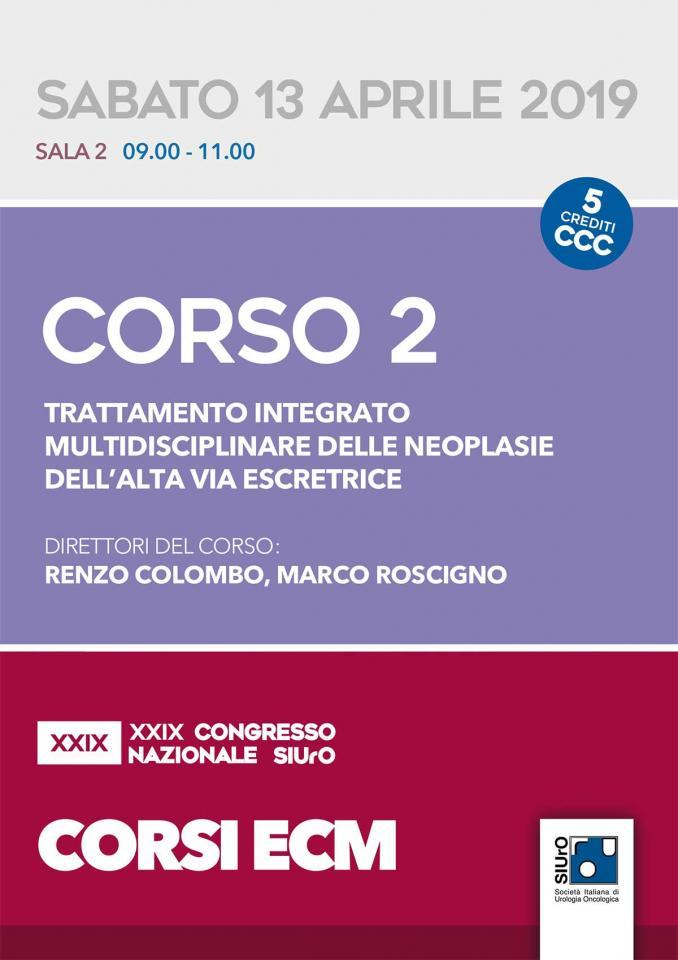 XXIX Congresso Nazionale SIUrO - Corso ECM 2