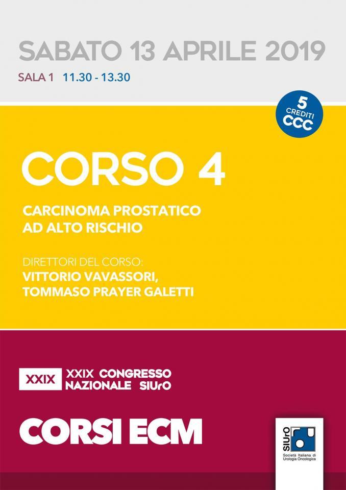 XXIX Congresso Nazionale SIUrO - Corso ECM 4