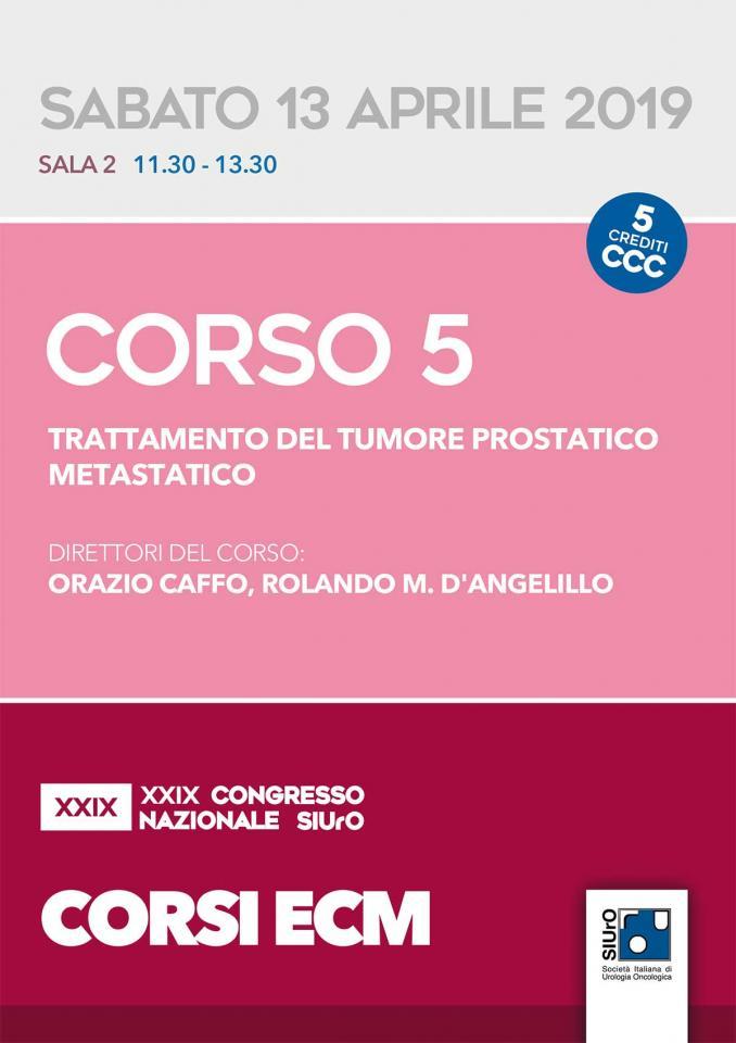 XXIX Congresso Nazionale SIUrO - Corso ECM 5