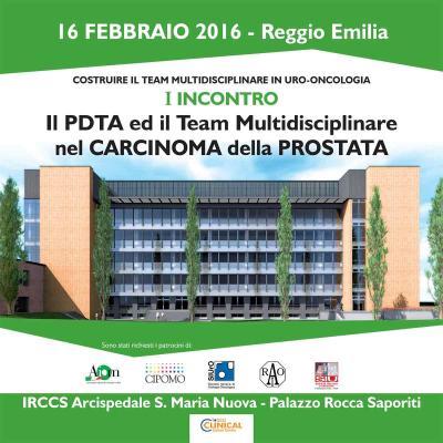 il PDTA ed il team multidisciplinare nel carcinoma della prostata - I incontro