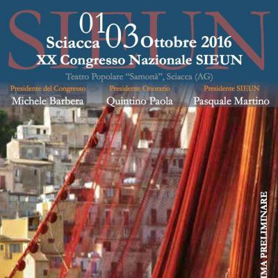 XX Congresso Nazionale SIEUN