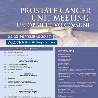 Prostate cancer unit meeting - un obbiettivo comune