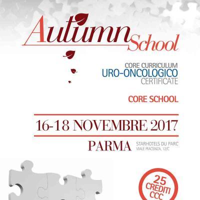 Autumn School 2017 - Core Curriculum Uro-Oncologico Certificate