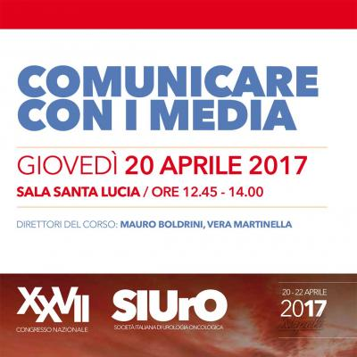 Corso: Comunicare con i media