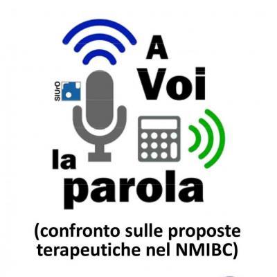A voi la parola - Confronto sulle proposte terapeutiche nel NMIBC