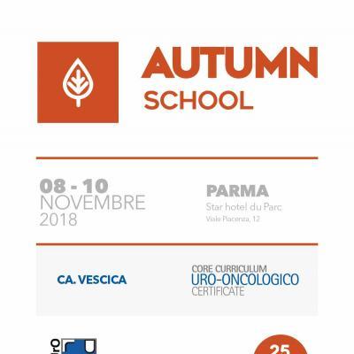 Autumn School 2018 - Core Curriculum Uro-Oncologico Certificate
