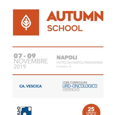 Autumn School 2019