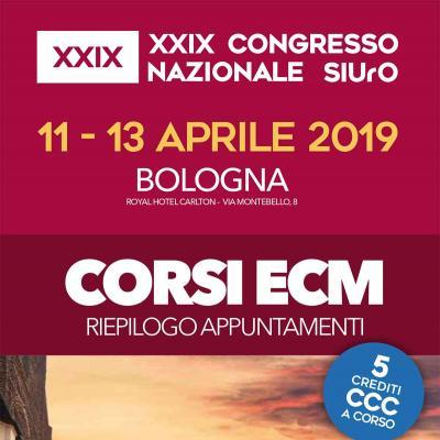 XXIX Congresso Nazionale SIUrO - Corsi ECM