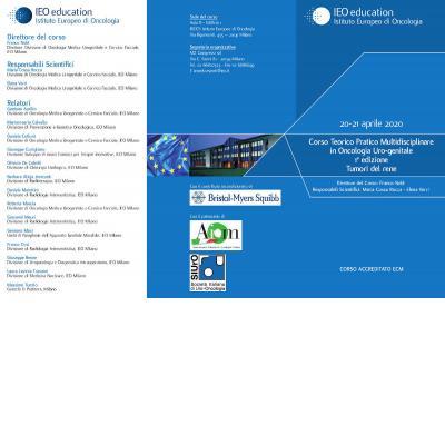 Corso Teorico Pratico Multidisciplinare in Oncologia Uro-genitale - 1a edizione - Tumori del rene