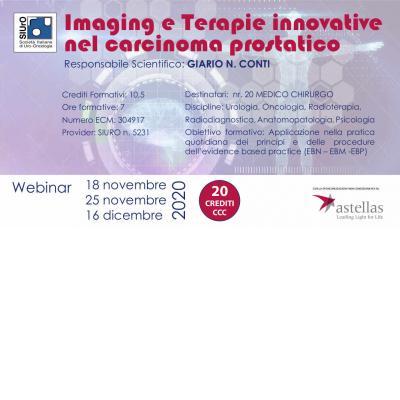 Imaging e terapie innovative nel carcinoma prostatico