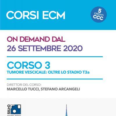 Corso ECM 3 - Tumore vescicale: oltre lo stadio T3a