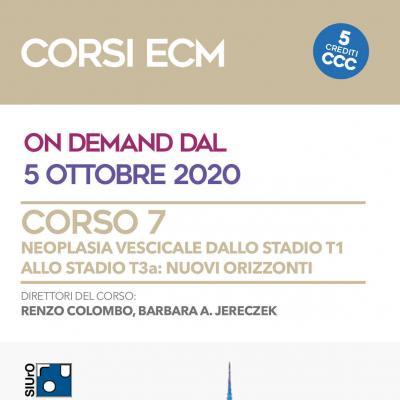 Corso ECM 7 - neoplasia vescicale dallo stadio T1 allo stadio T3a: nuovi orizzonti
