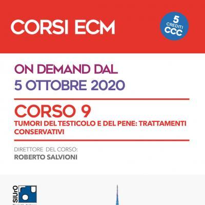 Corso ECM 9 - Tumori del testicolo e del pene: trattamenti conservativi