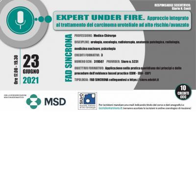 Expert under fire. Approccio integrato al trattamento del carcinoma uroteliale ad alto rischio/avanzato