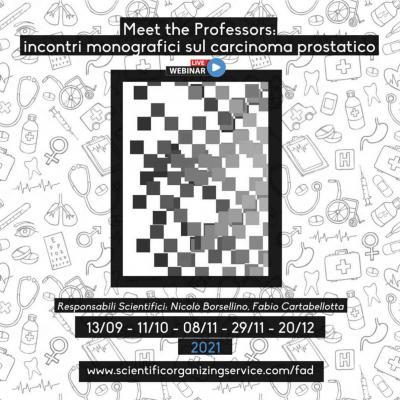 Meet the Professors: incontri monografici sul carcinoma prostatico