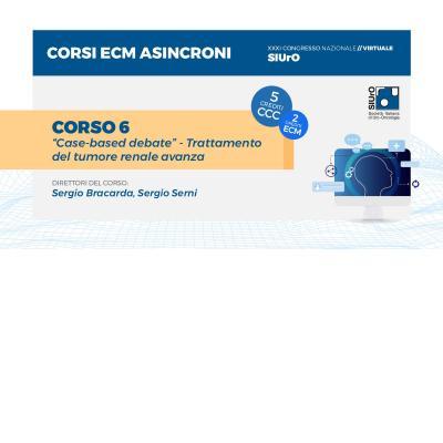 """XXXI Congresso - corso ECM 6 - """"Case-based debate"""" - Trattamento del tumore renale avanza"""