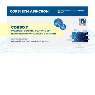 XXXI Congresso - corso ECM 7 - Prendersi cura del paziente con neoplasia uro oncologica avanzata