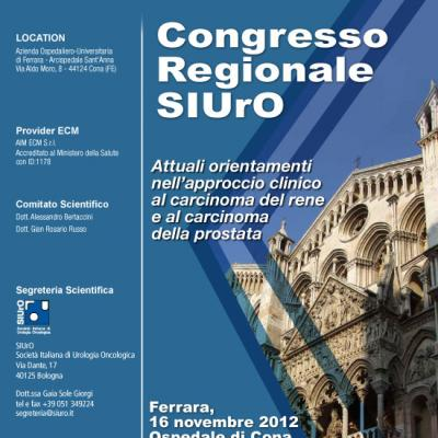 Congresso Regionale SIUrO - Ferrara 2012