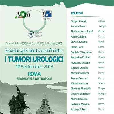 Giovani specialisti a confronto: i tumori urologici