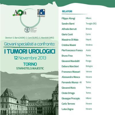 Giovani specialisti a confronto: i tumori urologici (Torino)