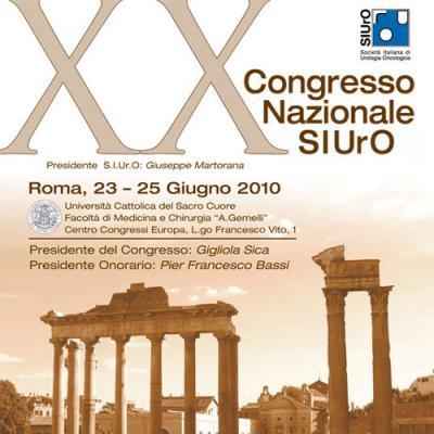 XX Congresso Nazionale SIUrO
